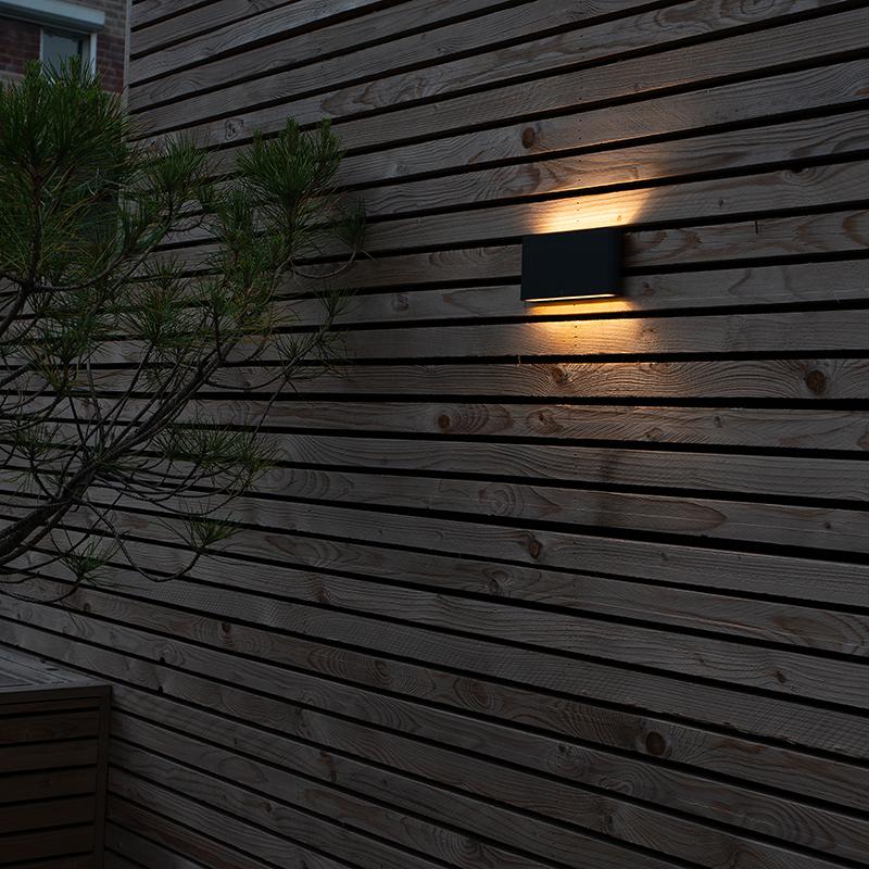Moderne wandlamp antraciet incl. LED IP54 - Otan Outdoor