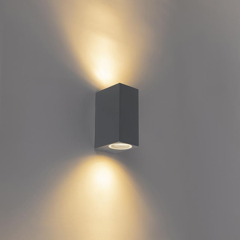 Immagine di Applique BALENO II carbone/alluminio