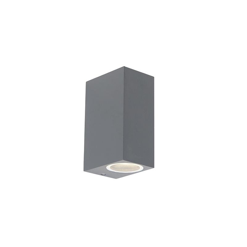 Moderne Wandlamp Antraciet Ip44 - Baleno Ii