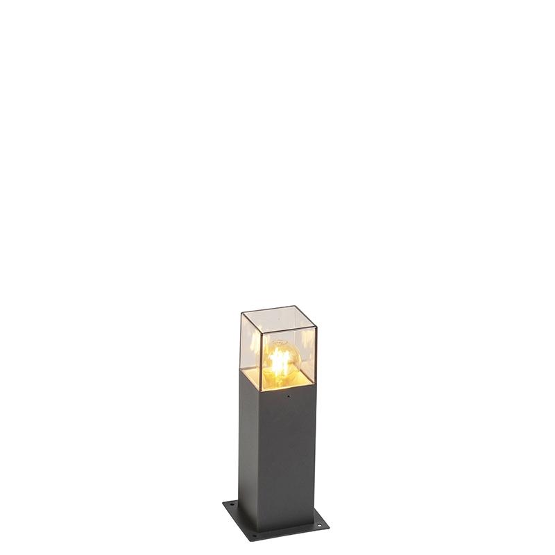 Moderne staande buitenlamp 30 cm antraciet IP44 - Denmark