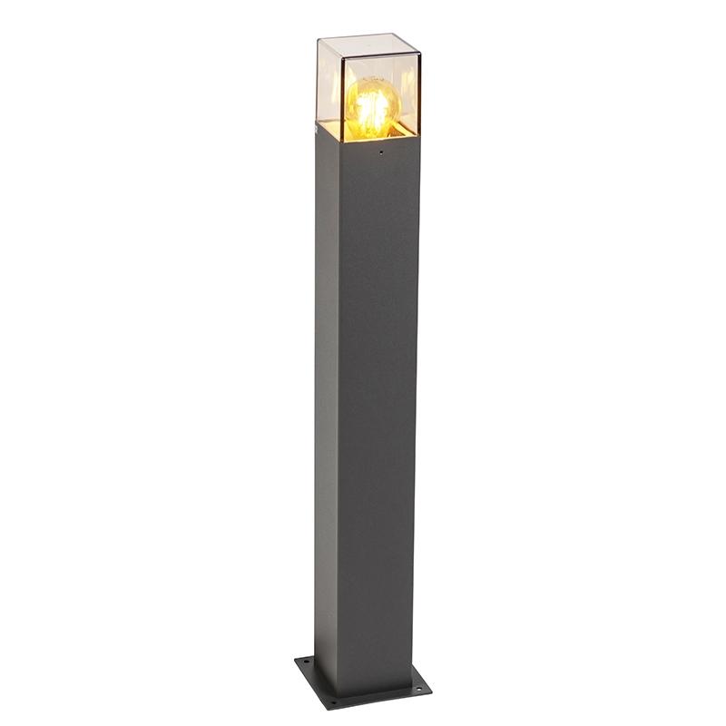Nowoczesna stojąca lampa zewnętrzna 70 cm antracyt IP44 - Denmark