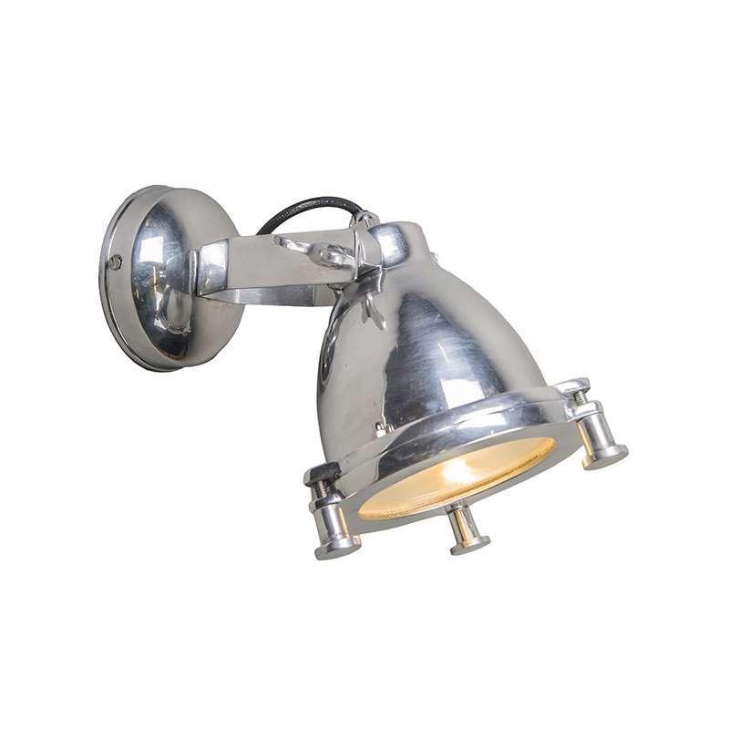 Wandlamp Raw II chroom