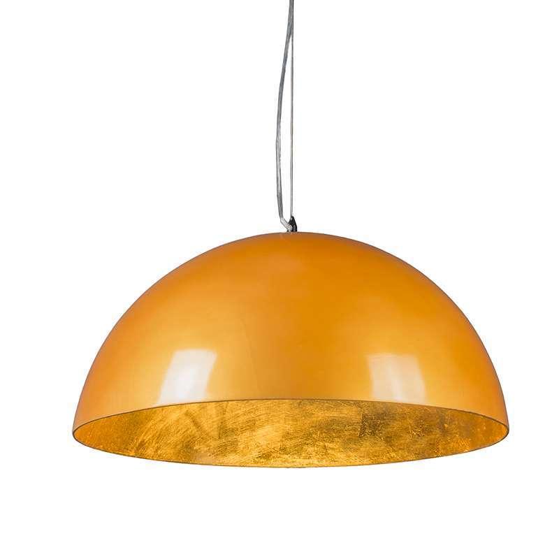 Hanglamp Magna Glossy 55cm goud met goud