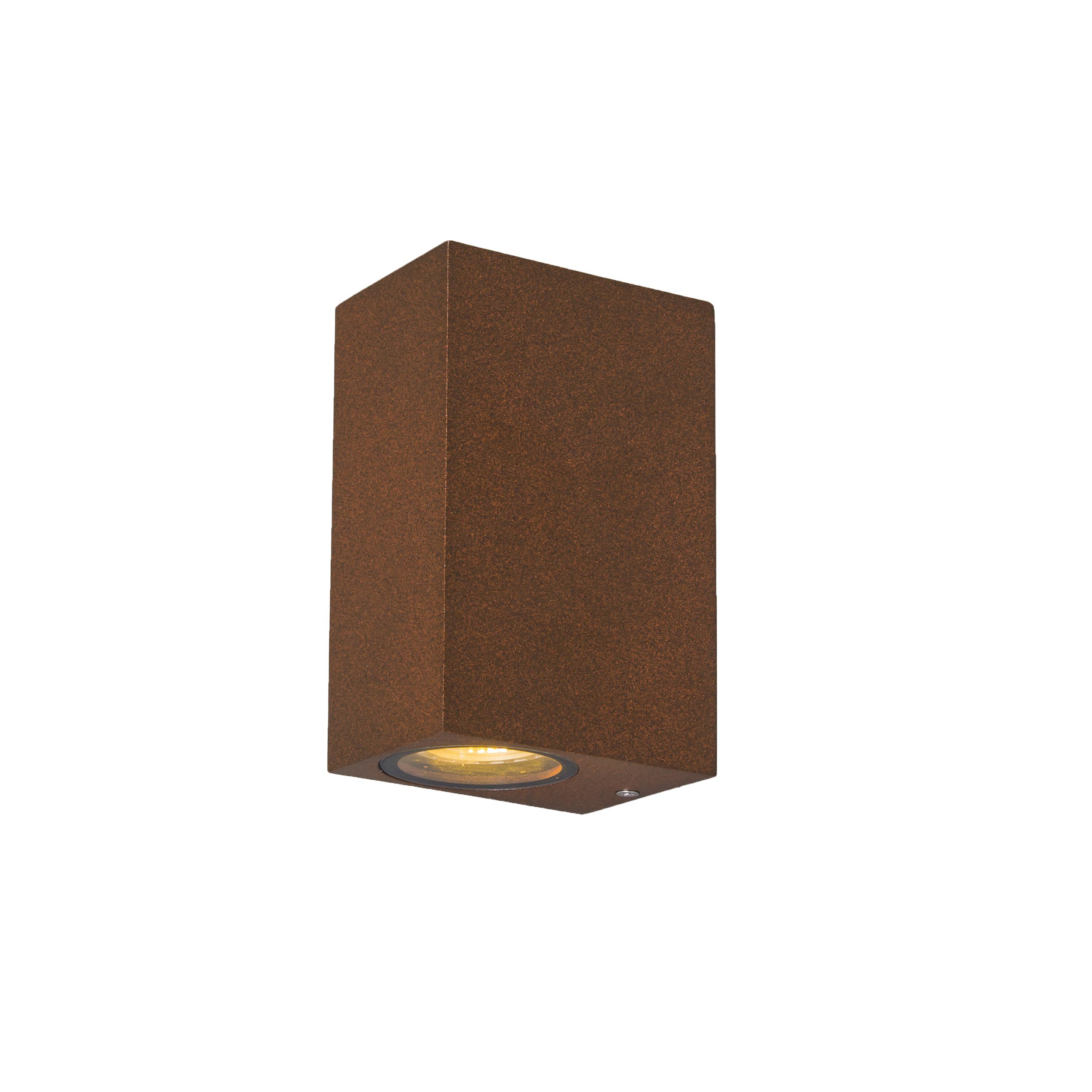 Wandlamp Baleno II roestbruin