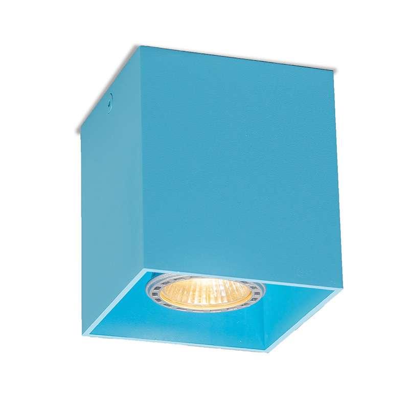 Spot Qubo 1 licht blauw