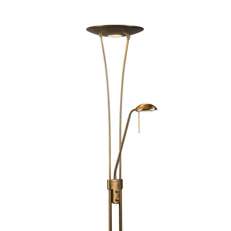 Vloerlamp Diva Delux brons