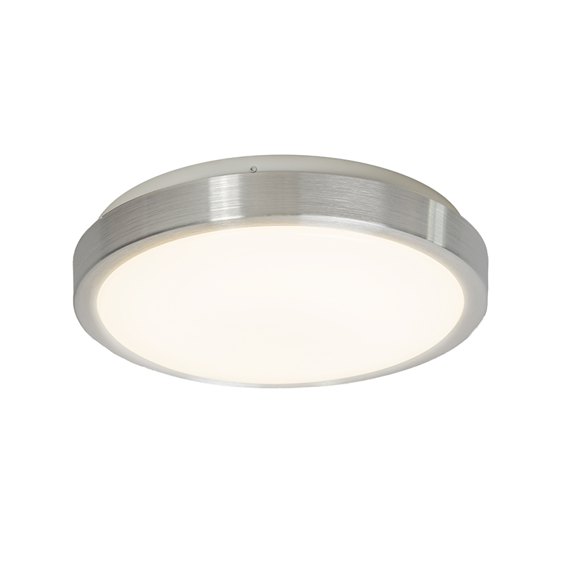 Moderne plafonni�re aluminium 28 cm incl. LED 12W - Avant