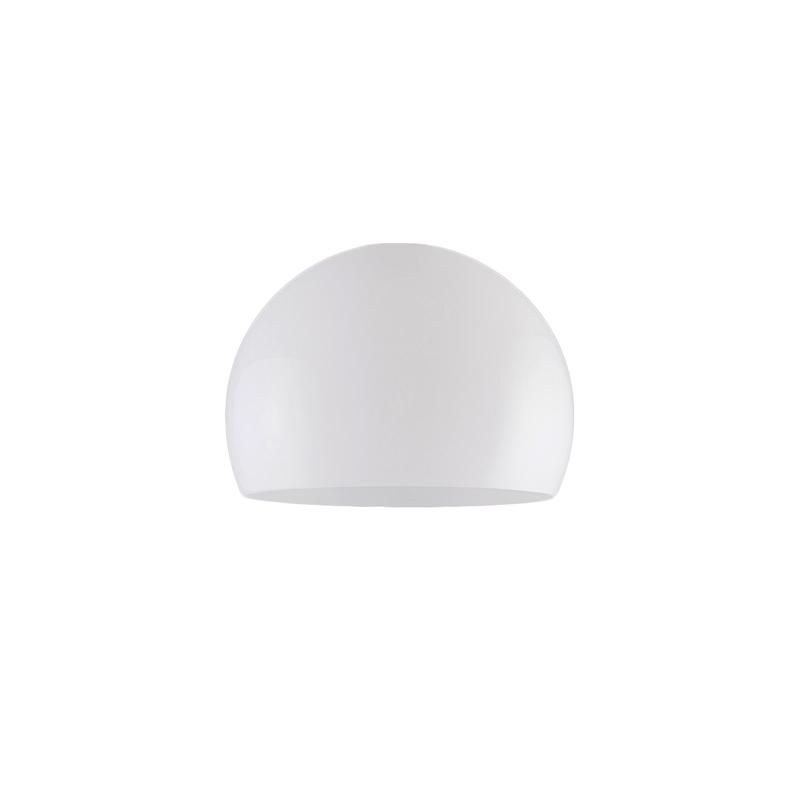 Kap Globe 30cm opaal wit