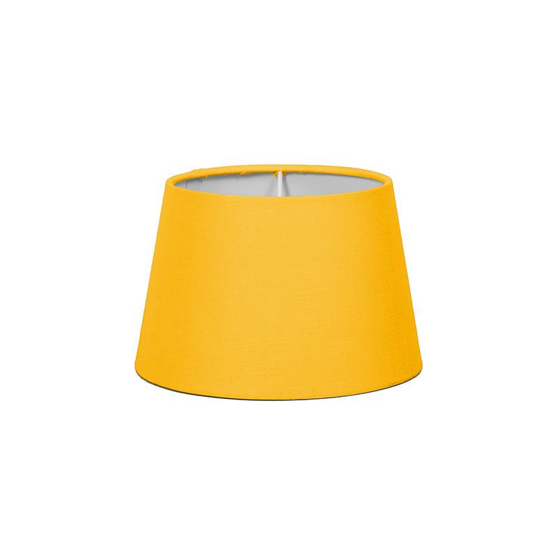 Kap 18cm rond SD E27 geel