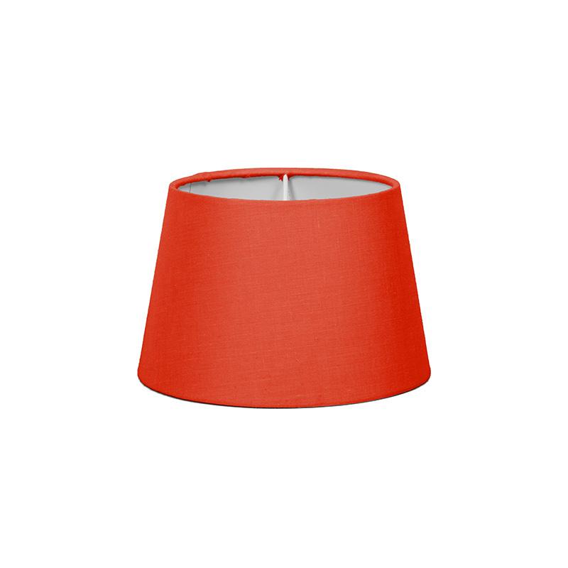 Kap 18cm rond SD E27 rood