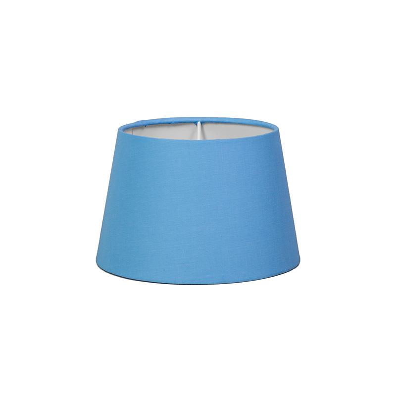 Kap 18cm rond SD E27 lichtblauw