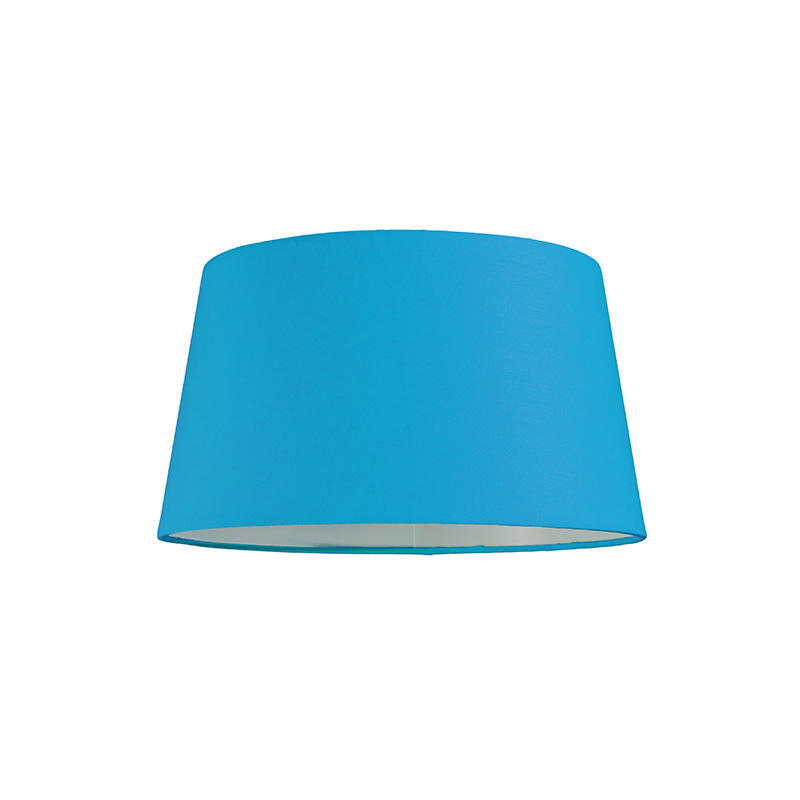 Kap 30cm rond SU E27 lichtblauw