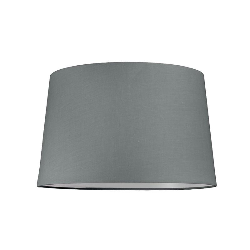 Kap 40cm rond SU E27 grijs