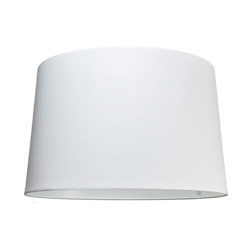 Kap 50cm rond SU E27 wit