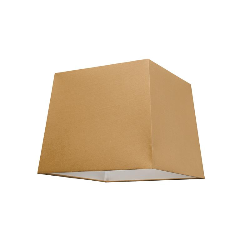 Kap 30cm vierkant SU E27 beige