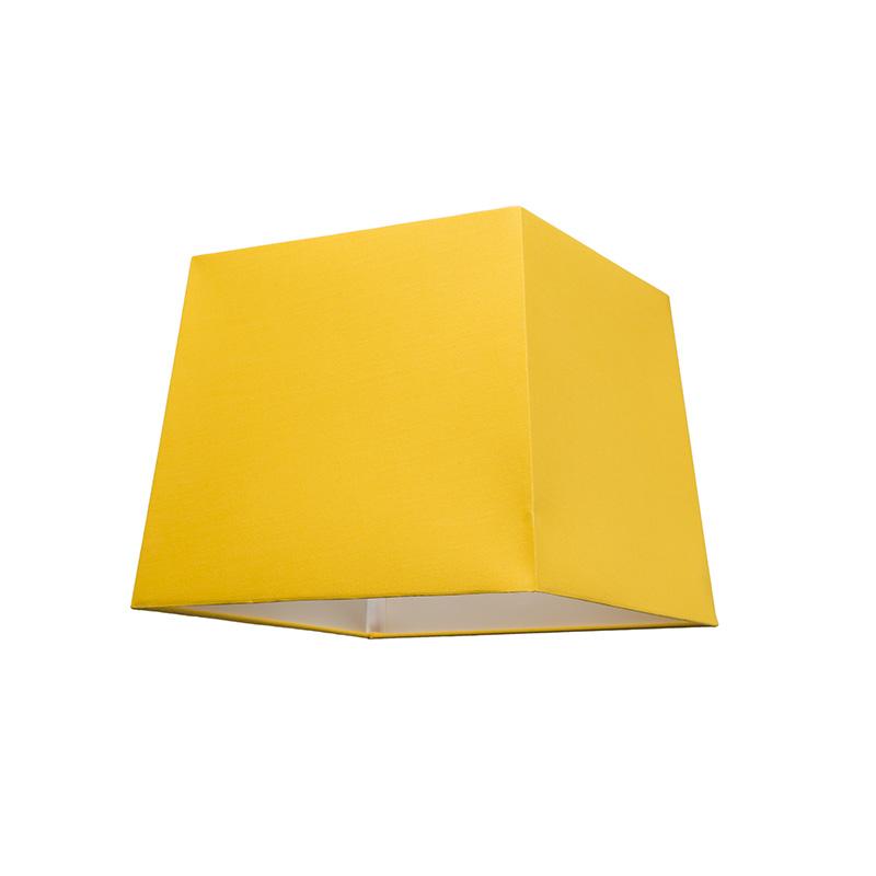 Kap 30cm vierkant SU E27 geel