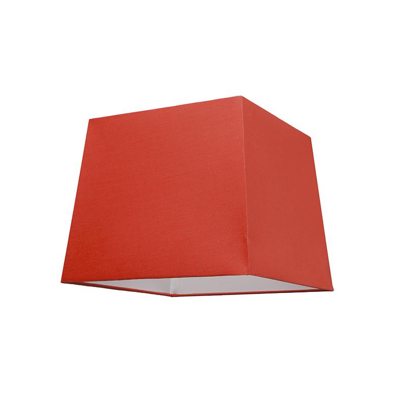 Kap 30cm vierkant SU E27 rood