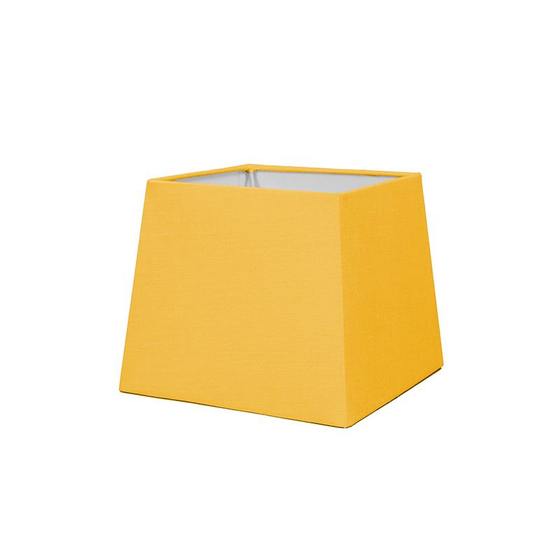 Kap 18cm vierkant SD E27 geel