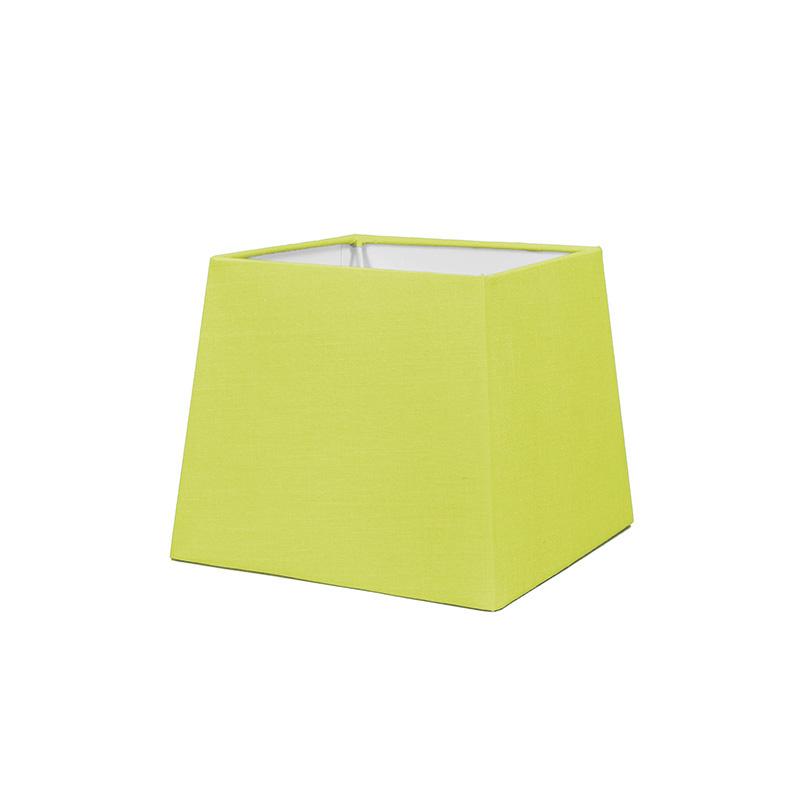 Kap 18cm vierkant SD E27 groen