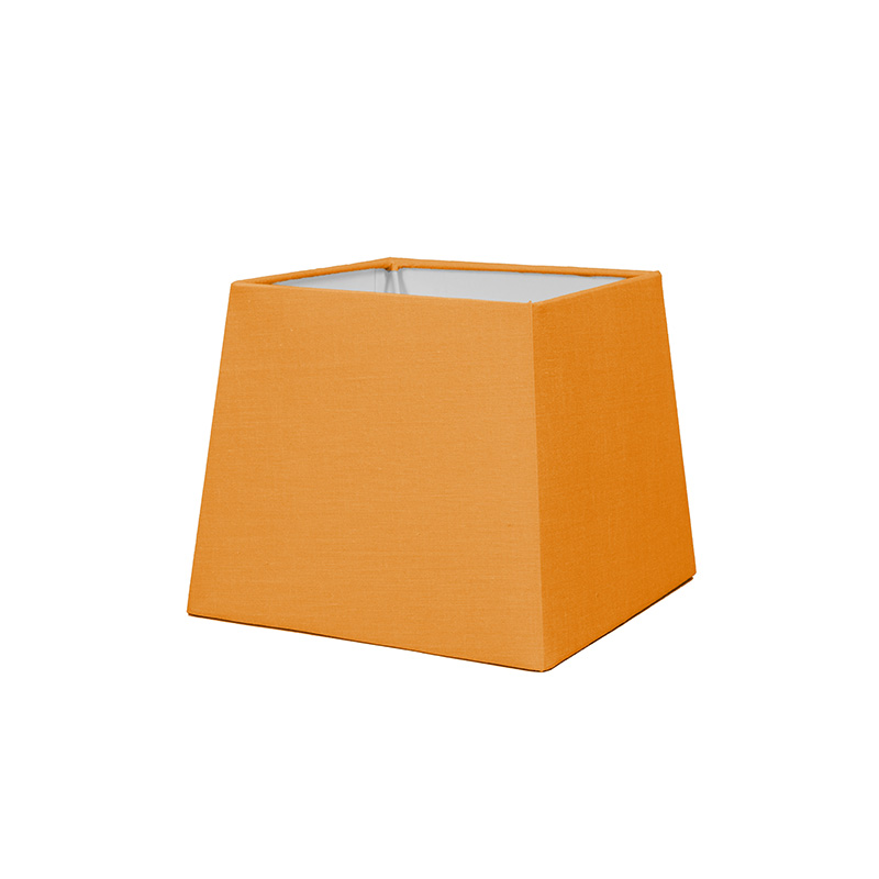 Kap 18cm vierkant SD E27 oranje