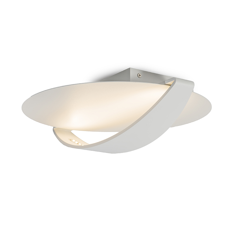 Plafonniere Satellite 2 LED wit