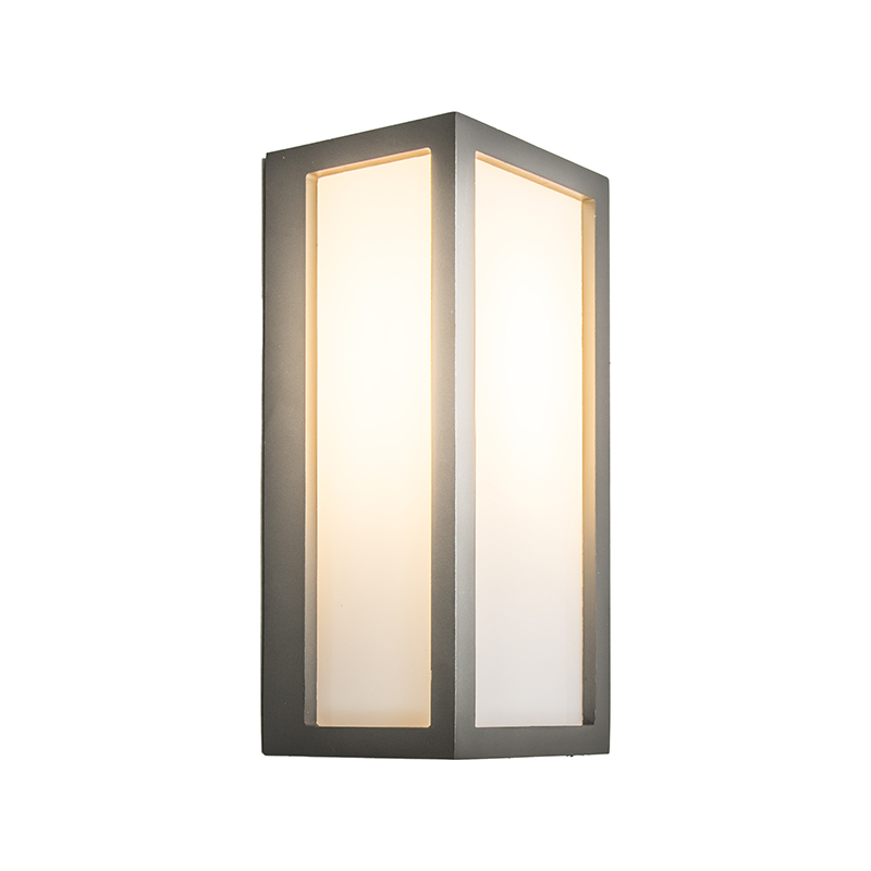 Wandlamp Angle 2 donkergrijs