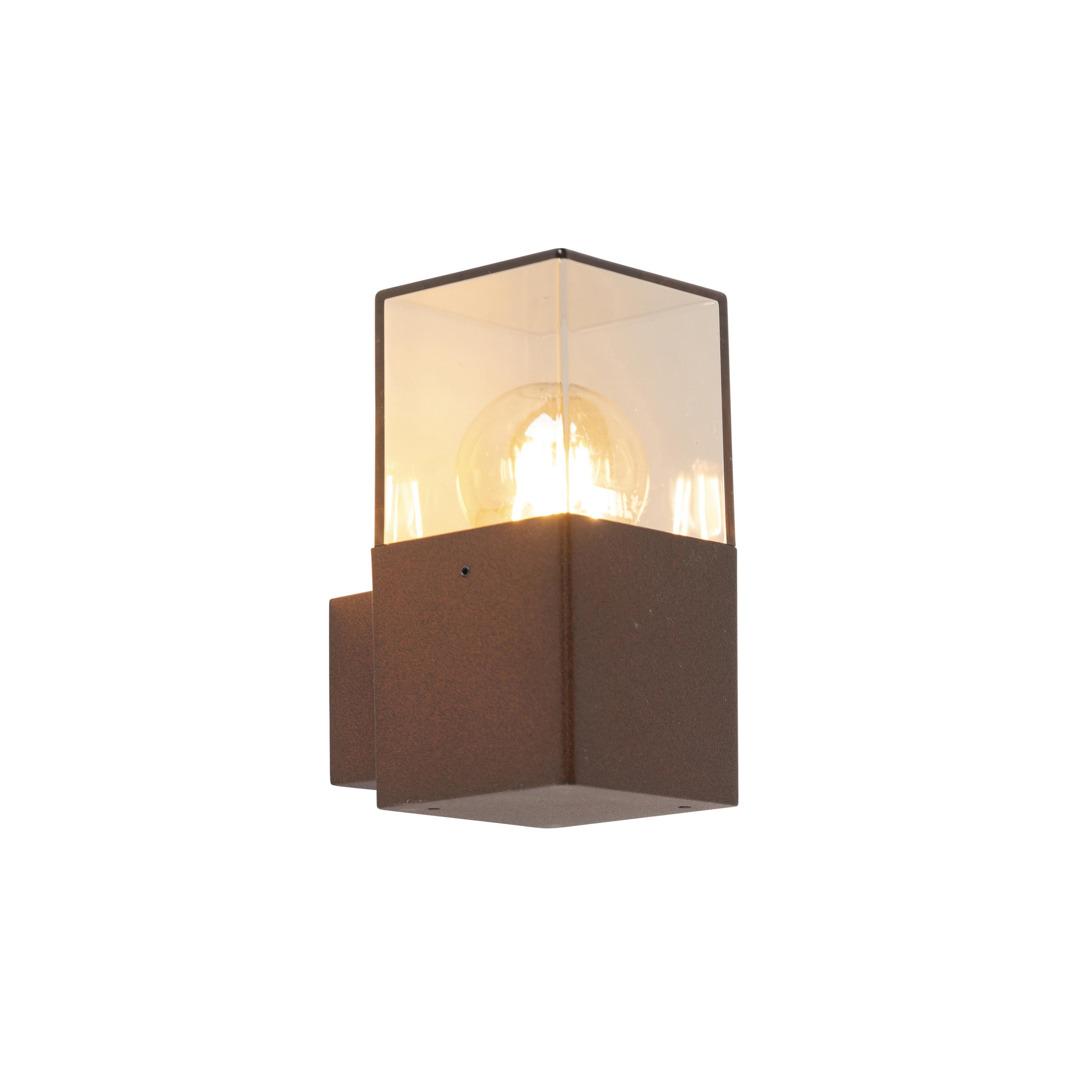 Industri�le buitenwandlamp roestbruin IP44 - Denmark