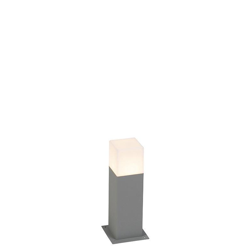 Moderne staande buitenlamp 30 cm grijs IP44 - Denmark