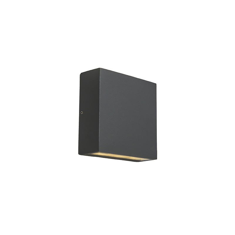 Buitenwandlamp donkergrijs IP54 incl. LED - Otan Outdoor 6
