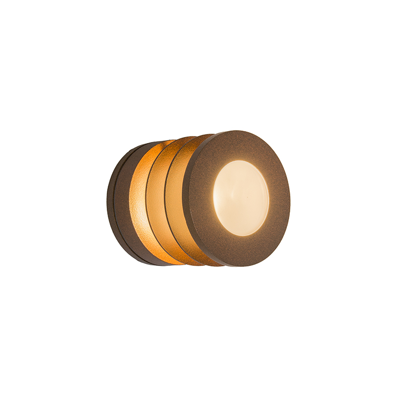 Wandlamp Beacon roestkleur