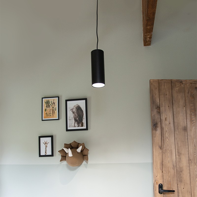 Design hanglamp zwart - Tubo