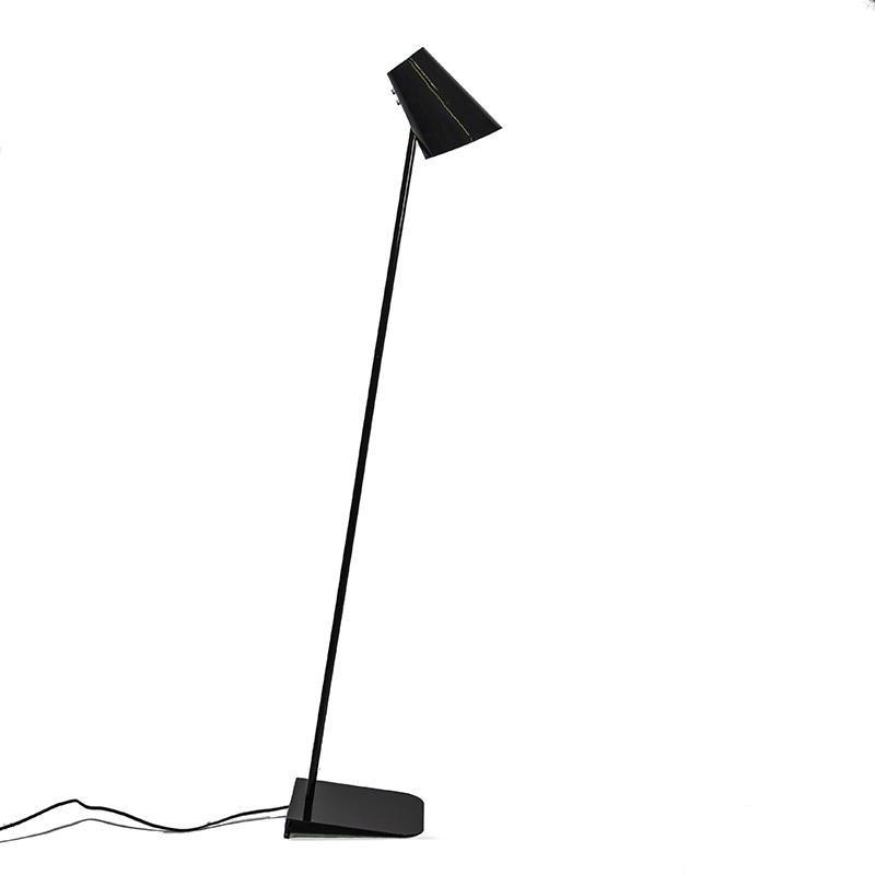 Vloerlamp Straight zwart