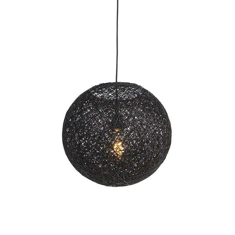 Hanglamp zwart 35 cm - Corda