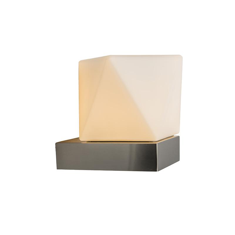 Wandlamp Tumba roestvrij staal