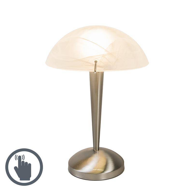 Touch tafellamp Boletum staal