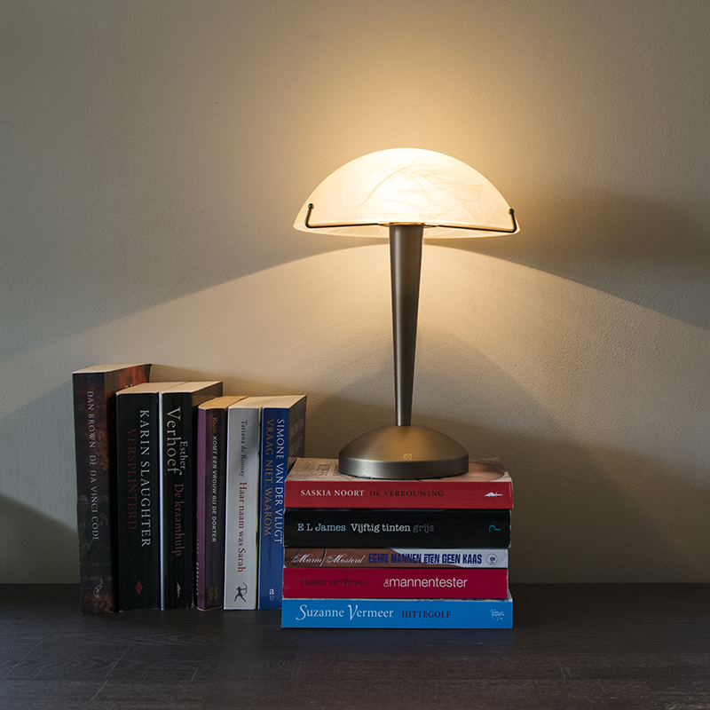Touch tafellamp Boletum brons