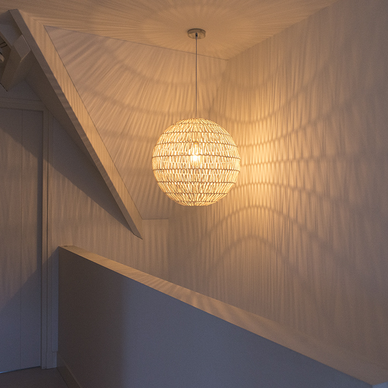 Hanglamp Lina Ball 60 wit