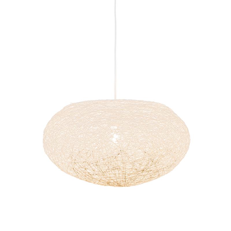Hanglamp Corda Flat 50 wit