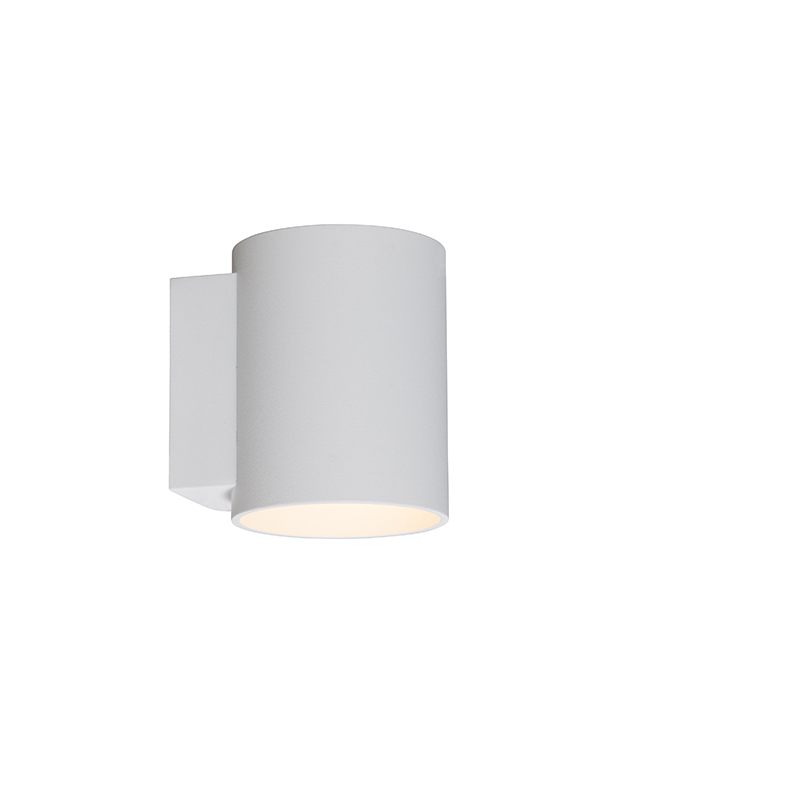 Wandlamp Sola rond wit