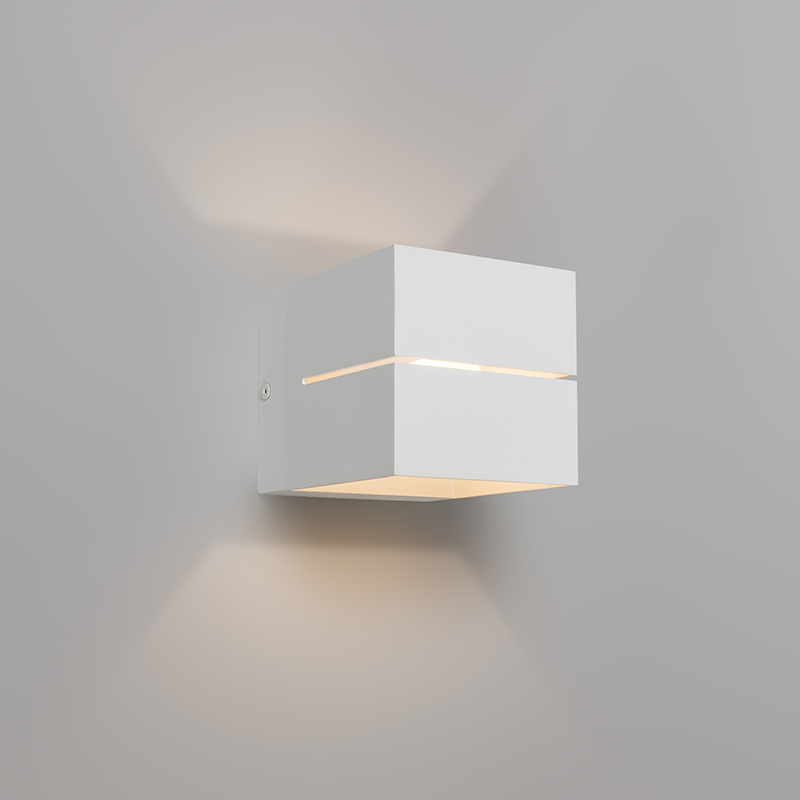 Moderne wandlamp wit - Transfer 2