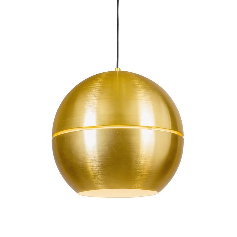 Lampa wisząca retro złota 40 cm - Plasterek