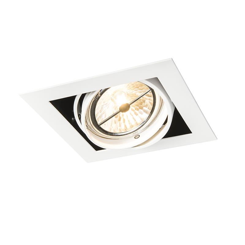 Inbouwspot wit AR111 verstelbaar - Oneon