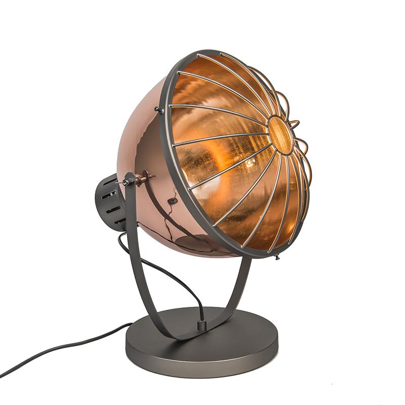 Tafellamp Orbita koper