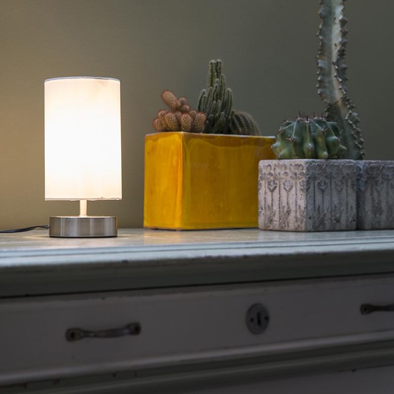 Tafellamp Milo 2 Rond Wit