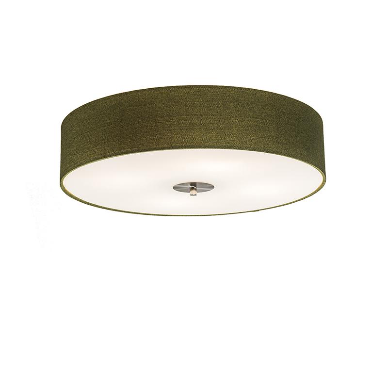 Klasyczny plafon zielony 50cm - Drum Jute