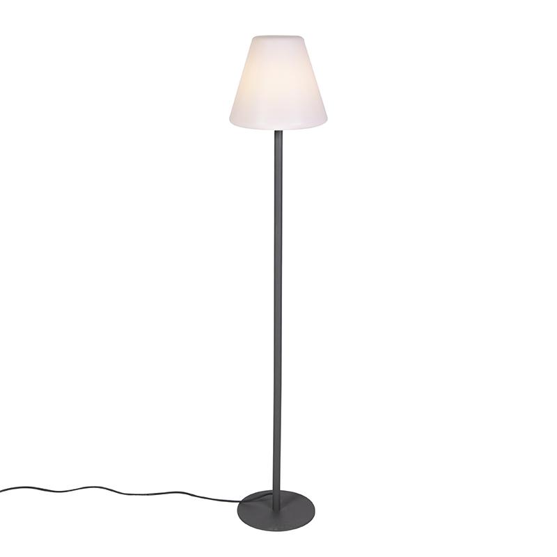 Moderne buiten vloerlamp donkergrijs - Virginia