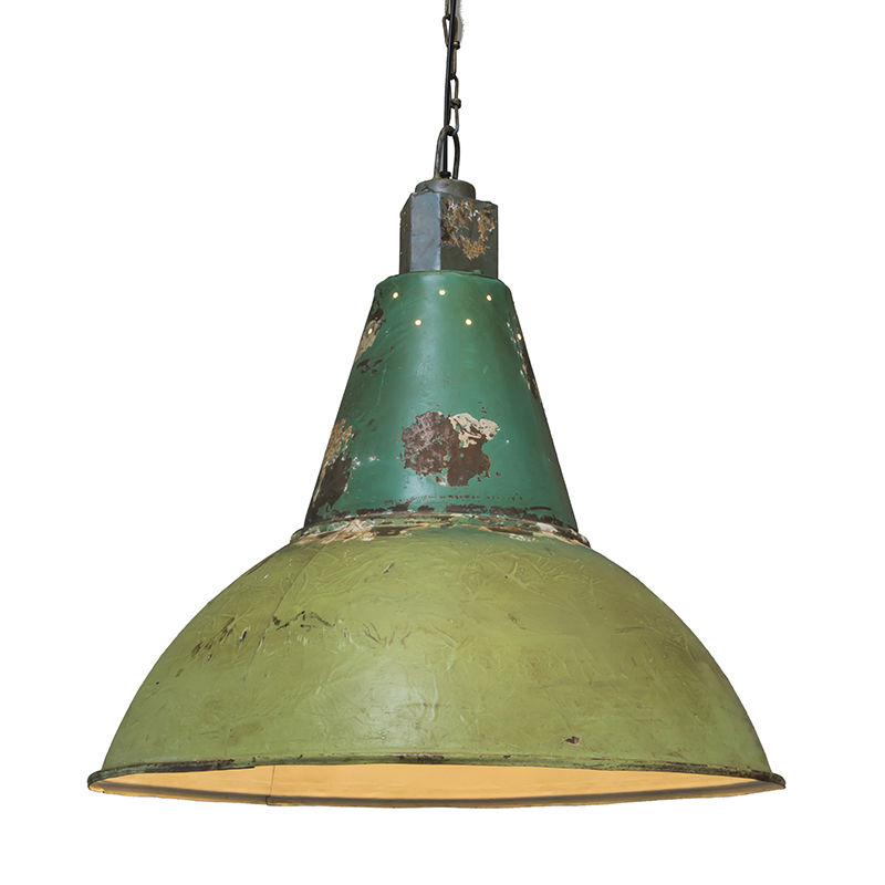 Hanglamp Oxidise antiek groen