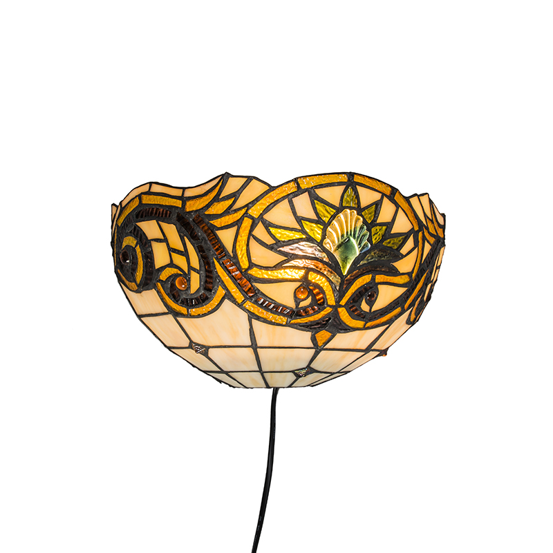 Wandlamp Tiffany Sunflower