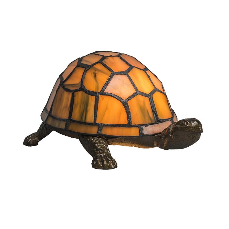 Tafellamp Tiffany Turtle amber