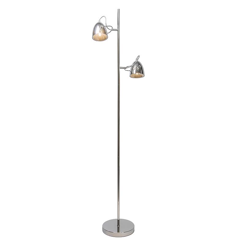 Vloerlamp Harley 2 chroom